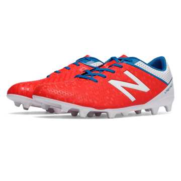 New Balance Visaro Control FG, Atomic with White & Barracuda
