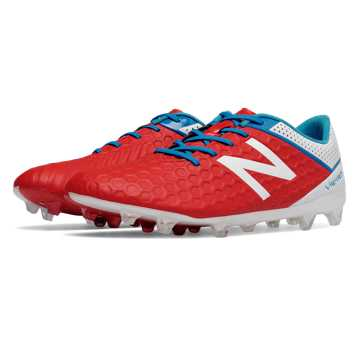 New Balance Visaro Mid Level FG, Atomic with White & Bolt