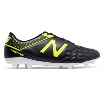 New Balance Visaro Liga Full Grain FG, Black with Firefly