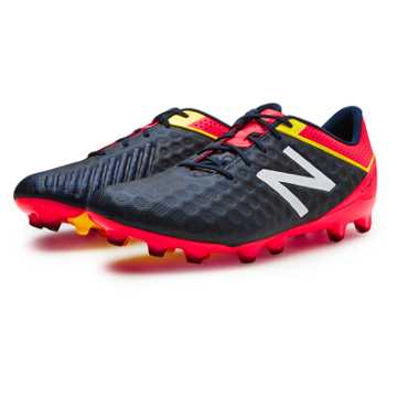 New Balance Visaro Pro FG, Galaxy with Bright Cherry & Firefly