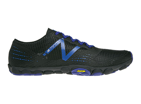 Minimus Zero Trail, Black with Blue