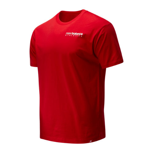 New Balance 01529 Men's Essentials Icon Kenmore Tee - Red (MT01529REP) photo