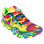 Mens Minimus Tie Dye 1010, Yellow with Red & Blue