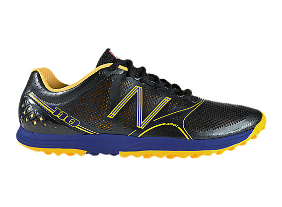 New Balance 110, Black with Yellow & Blue