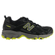 New Balance 411, Black with Lime Green