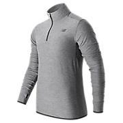 N Transit Quarter Zip, Athletic Grey