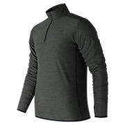 N Transit Quarter Zip, Heather Charcoal