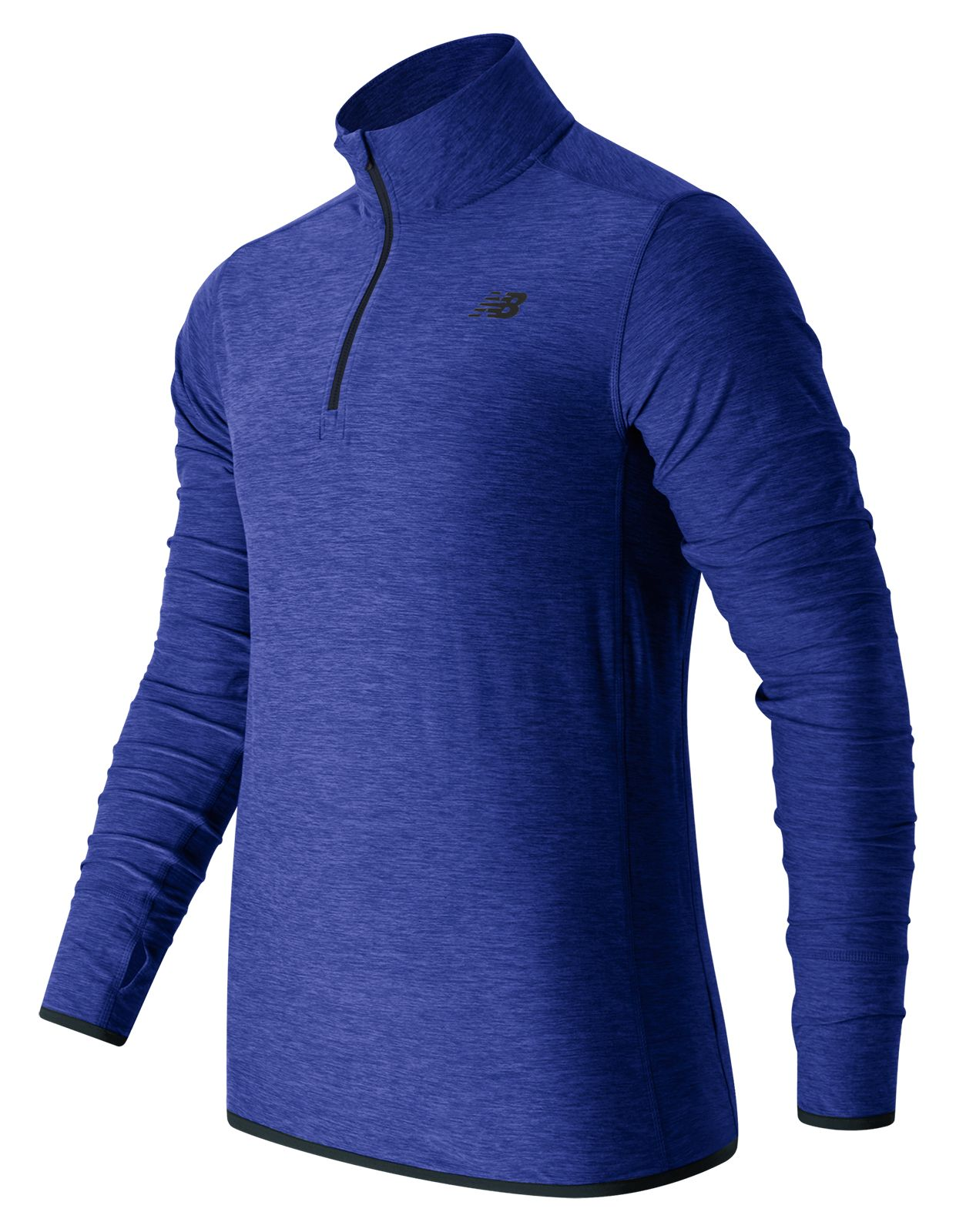 New Balance : N Transit Quarter Zip : Men's Performance : MT53030MBH