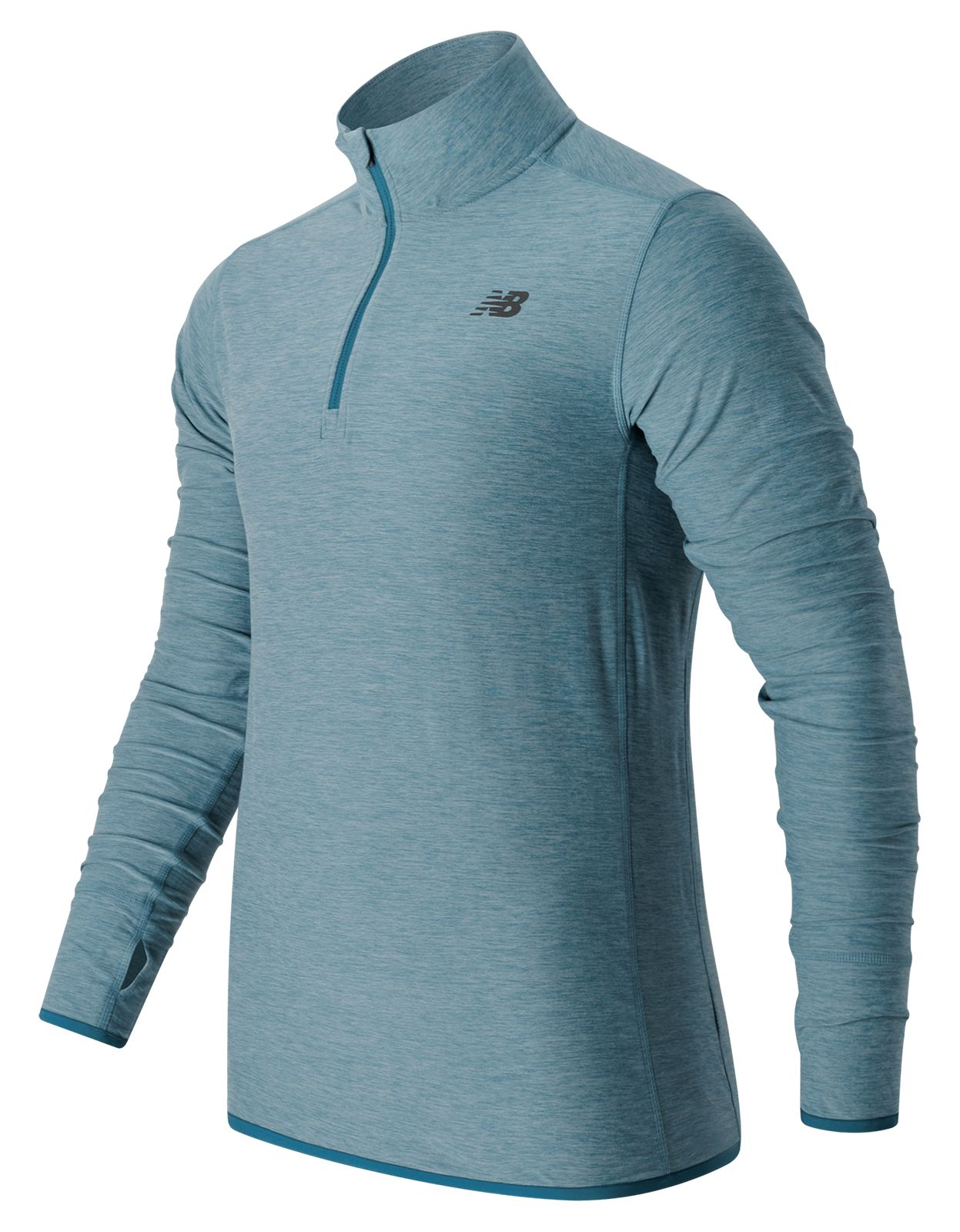 New Balance : N Transit Quarter Zip : Men's Performance : MT53030RIH