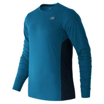 New Balance Accelerate Long Sleeve, Barracuda with Galaxy