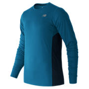 NB Accelerate Long Sleeve, Barracuda with Galaxy