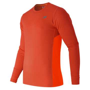 New Balance Accelerate Long Sleeve, Fireball with Lava