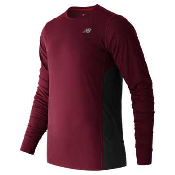 New Balance Accelerate Long Sleeve, Sedona with Galaxy