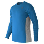 Accelerate Long Sleeve, Sonar with Silver Mink