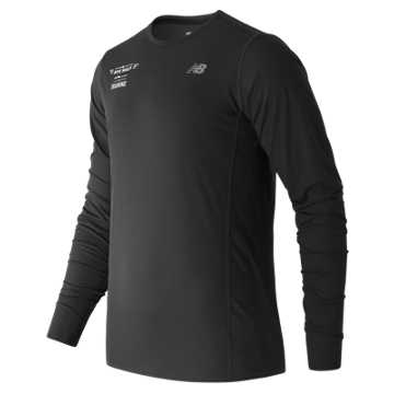 New Balance United NYC Half Training LS Tee, Black