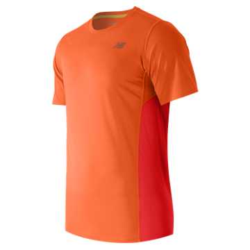 New Balance Accelerate Short Sleeve, Lava with Flame