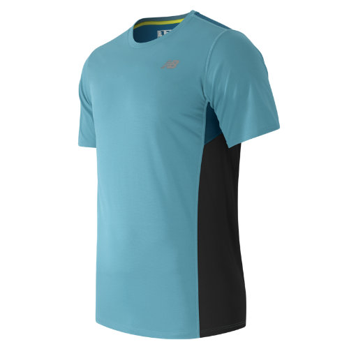 New Balance Accelerate Short Sleeve Boy's Clothing Outlet - MT53061RIP