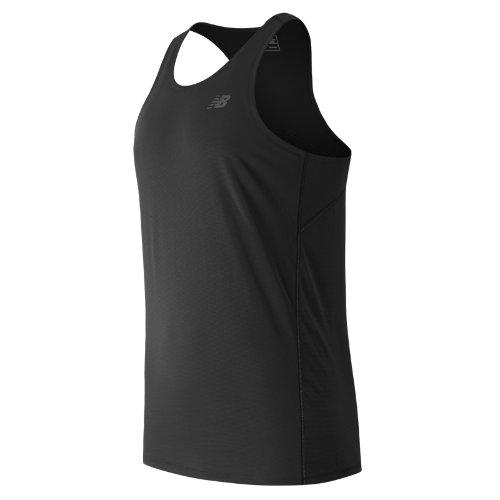 New Balance Accelerate Singlet Boy's Clothing - MT53067BK