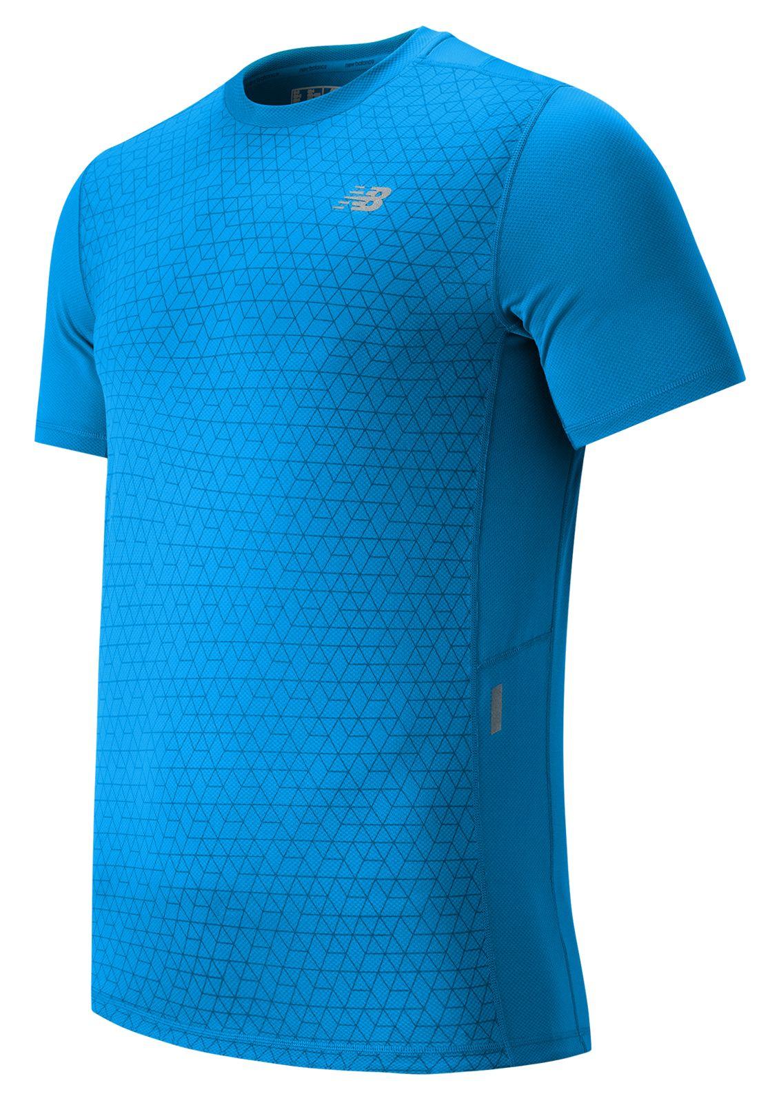 New Balance : NB Ice Short Sleeve : Men's Short Sleeve & Sleeveless Shirts : MT53224BOP
