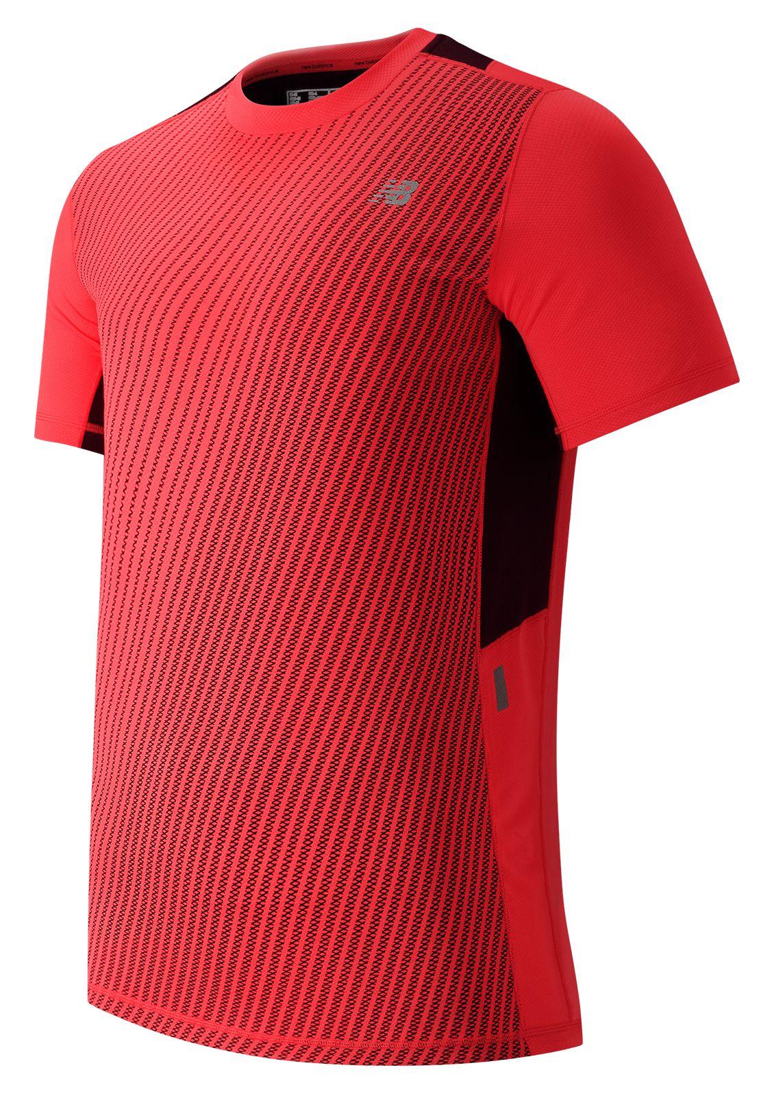 New Balance : NB Ice Short Sleeve : Men's Short Sleeve & Sleeveless Shirts : MT53224FLM