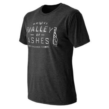New Balance Valley of Ashes Tee, Vintage Black