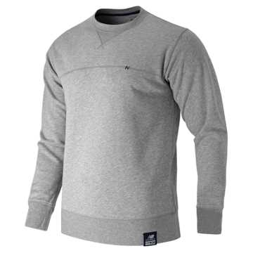 New Balance Crew Neck Sweatshirt, Athletic Grey