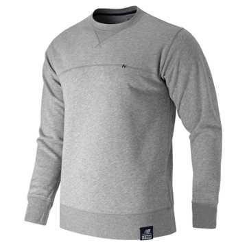 New Balance Crew Neck Sweatshirt, Athletic Grey