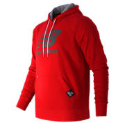 Pullover Hoodie, Chrome Red