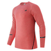 Trinamic Long Sleeve Top, Atomic Heather with Black
