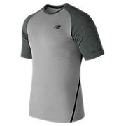 Trinamic Short Sleeve Top, Athletic Grey