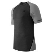 Trinamic Short Sleeve Top, Heather Charcoal with Athletic Grey Heather
