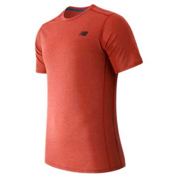 New Balance Pindot Flux Short Sleeve, Atomic