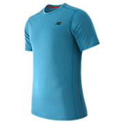 Pindot Flux Short Sleeve, Barracuda