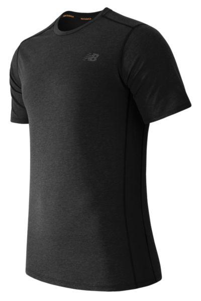 New Balance 61034 Men's Pindot Flux Short Sleeve | MT61034BK