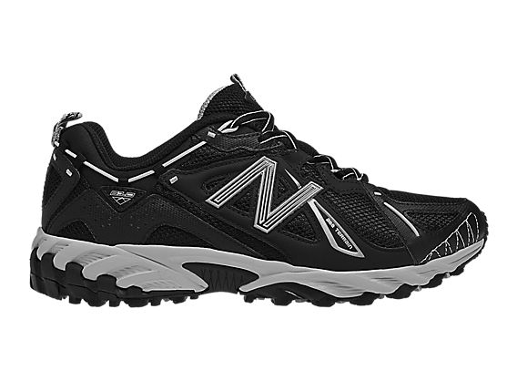 New Balance 610, Black with Silver