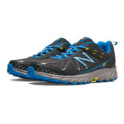 New Balance 610v4, Lead with Electric Blue & Lemon Drop