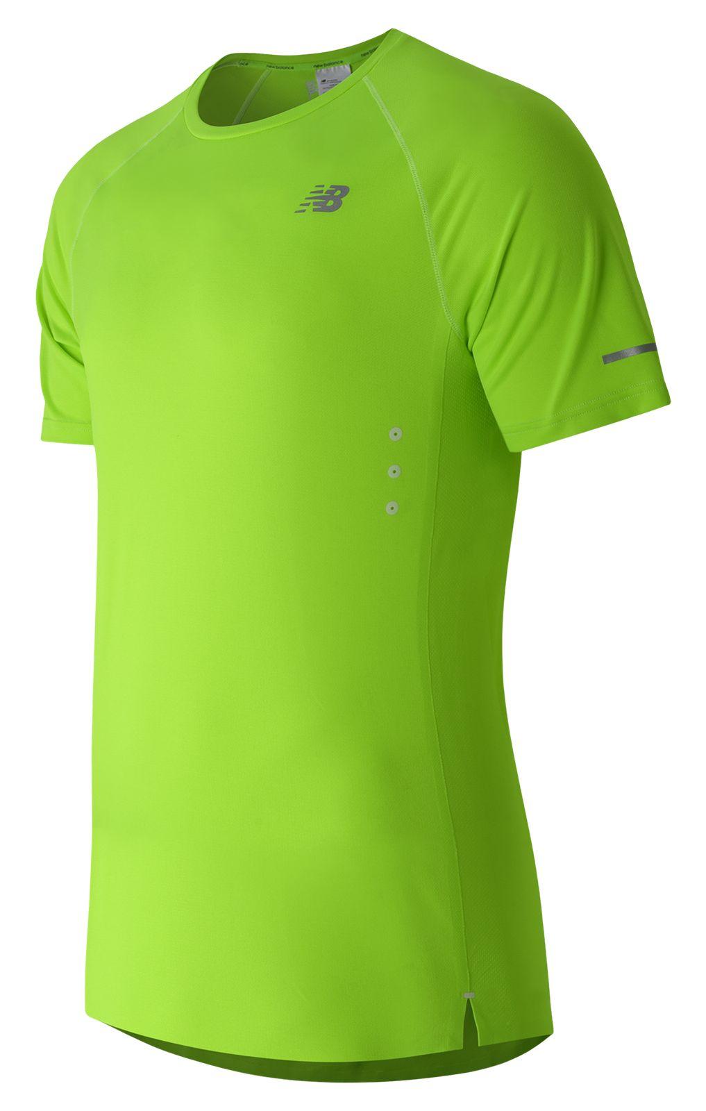 New Balance : Precision Run Short Sleeve : Men's Short Sleeve & Sleeveless Shirts : MT61218TOX