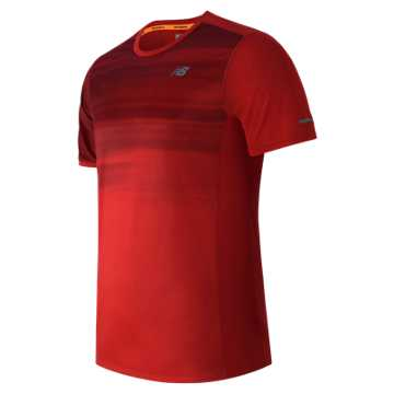 New Balance NB Ice Short Sleeve, Chrome Red with Bloodstone