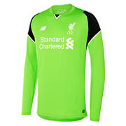 NB LFC Mens Home GK LS Jersey, Locust with Black