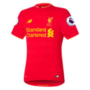 NB LFC Mens Home SS Elite Jersey, High Risk Red
