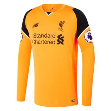 New Balance LFC Mens Mignolet Away EPL Patch GK LS Jersey, Impulse
