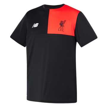 New Balance LFC Mens Elite Training SS Jersey, Black