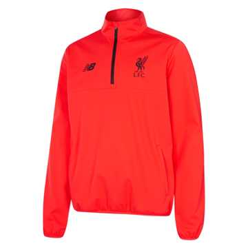 New Balance LFC Mens Elite Training Half Zip Windblocker, Flame