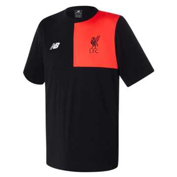 New Balance LFC Mens Elite Training Tee, Black
