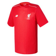New Balance LFC Mens Elite Training Pre Match Tee, High Risk Red