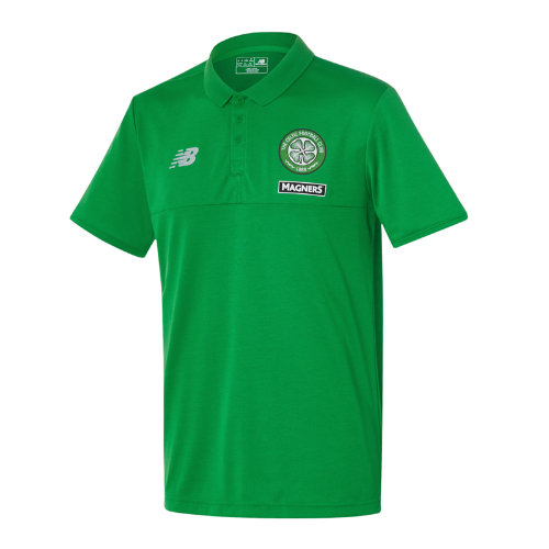 New Balance : Celtic Mens Elite Training Polo : Men's Apparel Outlet : MT630126FN