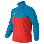 NB Tech Training Half Zip Windblocker, Barracuda