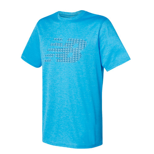 New Balance : Tech Training Visaro Graphic SS Jersey : Men's Apparel Outlet : MT630146PLH