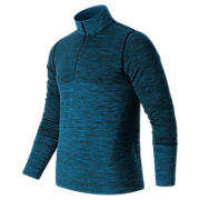 M4M Seamless Quarter Zip, Barracuda Heather
