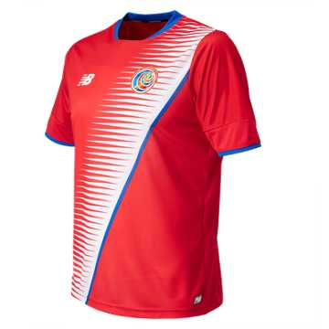 New Balance Costa Rica Mens Home SS Jersey, Costa Red
